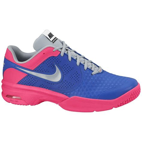 pink tennis shoes nike mens air courtballistic 4 1 tennis shoes blue pink