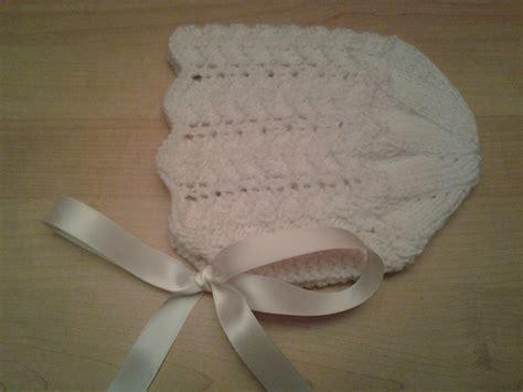 knit baby bonnet zig zag ridged knit baby bonnet toledo s talents