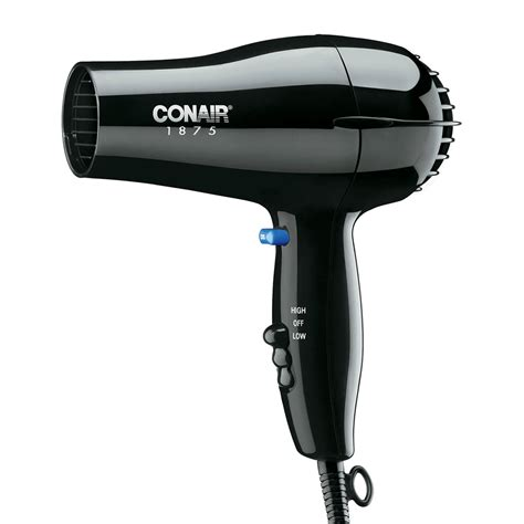 Hair Dryer Cool conair hospitality 247bw compact hair dryer w cool button 2 heat speed settings black
