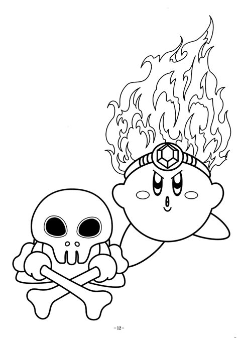 coloring pages of kirby kirby coloring pages coloring home