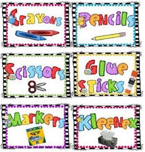 printable stickers for kindergarten back to school printable labels free preschool classroom