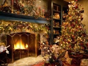 beautiful tree and fireplace best hd