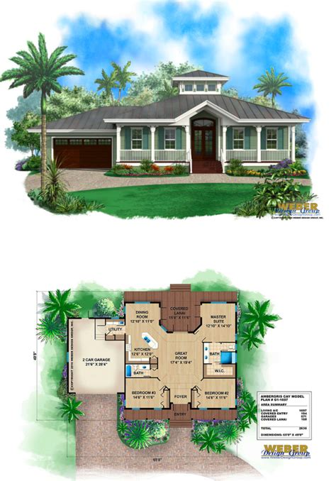 Small Florida House Plans small florida cracker style house plan with metal roof