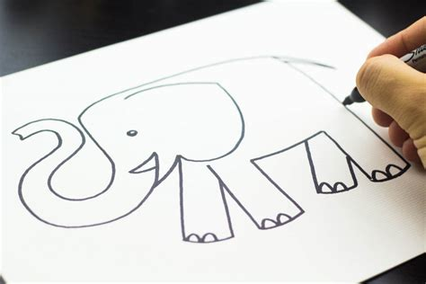 what to draw for how to draw an elephant bedroom idea