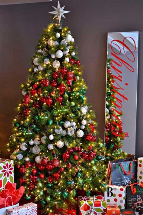 Tree Decoration Ideas | 25 creative and beautiful christmas tree decorating ideas