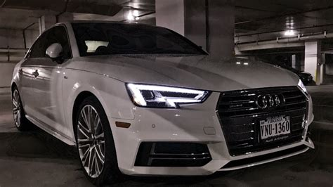 Audi A4 Led by 2017 Audi A4 Review Led Lighting