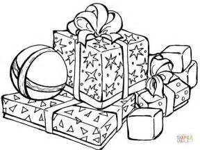 Christmas presents and gifts crossword puzzle trace lines of christmas