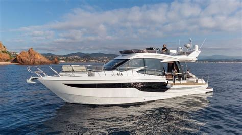 galeon  fly power boat  sale wwwyachtworldcom