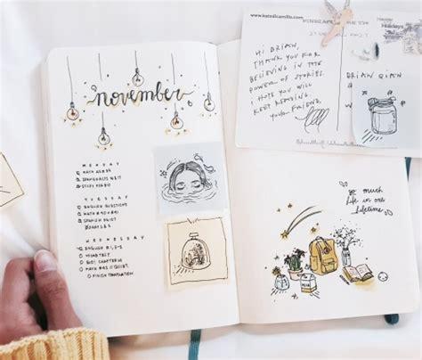 journal plant layout design bullet journal flip through tumblr