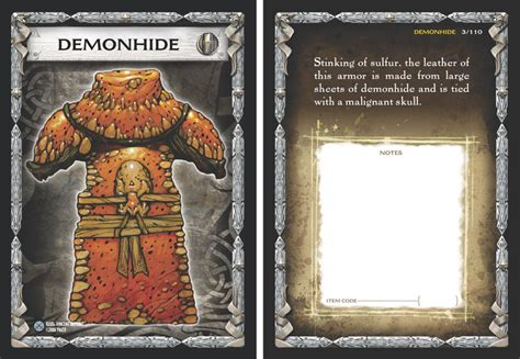 rpg item card template paizo gamemastery item cards relics of war