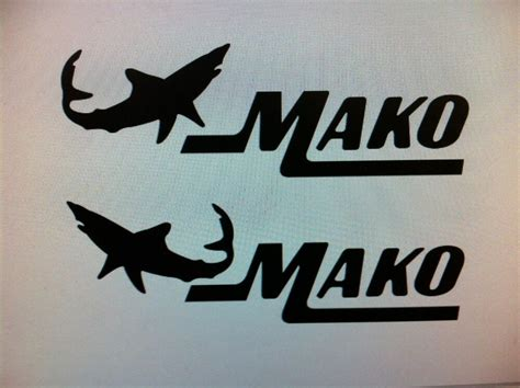 mako boats decals mako boat decal stickers graphic logo decal flats boats