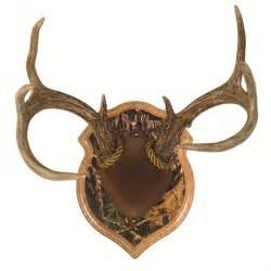 Deer antler mounting kits leather