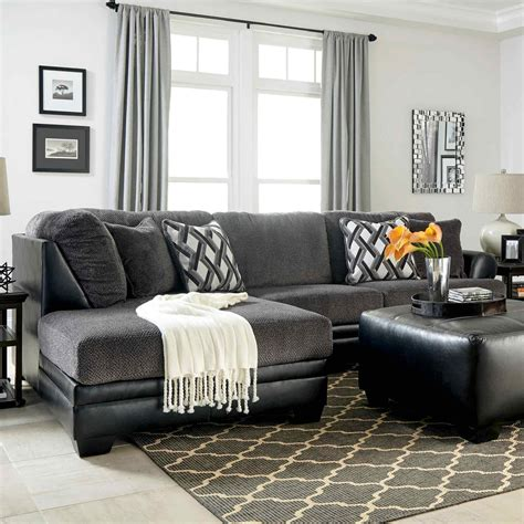 laf corner chaise sectional benchcraft kumasi 2 pc sectional laf corner chaise raf