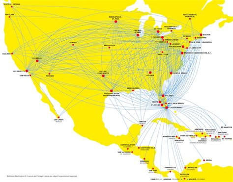 usa 3000 airlines route map spirit airlines everything you need to