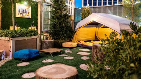 Rei Backyard Rei Created An Oasis With Its Evrgrn Gear Design Milk