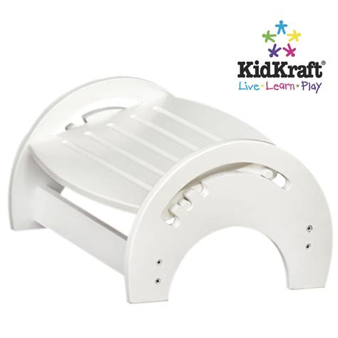 Kidkraft Stool by Kidkraft Adjustable Stool For Nursing White