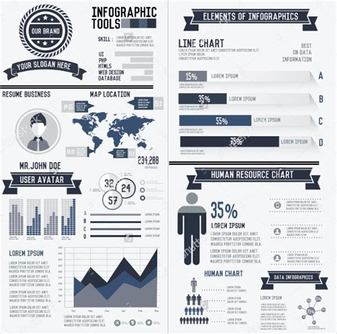 Infographic Resume Template by 33 Infographic Resume Templates Free Sle Exle