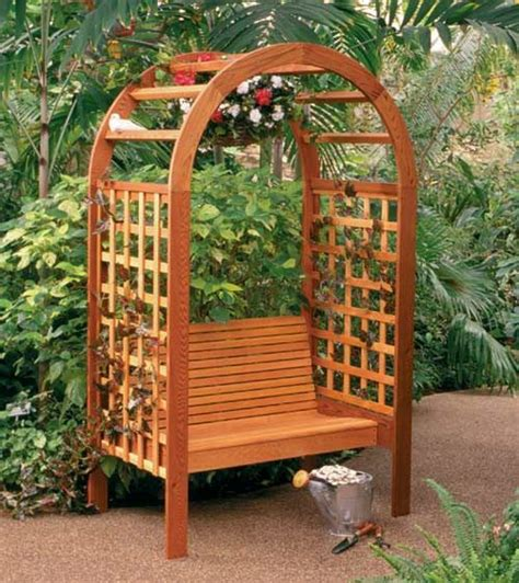 garden bench with arbor garden arbor bench garden art structures hardscapes pinter