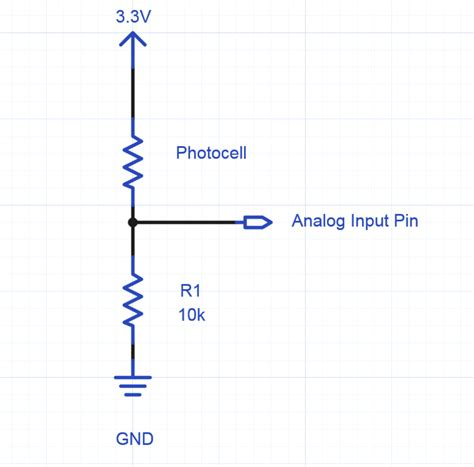 how to read resistor datasheet using a photocell or phototransistor to determine lighting levels mbed