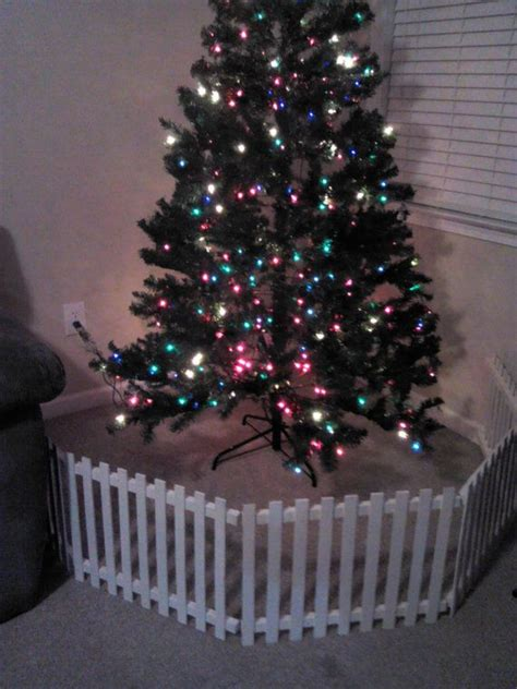 christmas tree fence for dogs the 25 best tree fence ideas on wood tree wooden