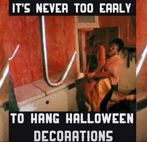 Texas Chainsaw Massacre Meme - 118 best halloween images on pinterest happy halloween