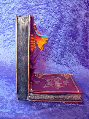 be right back bookend dragonet bookends large