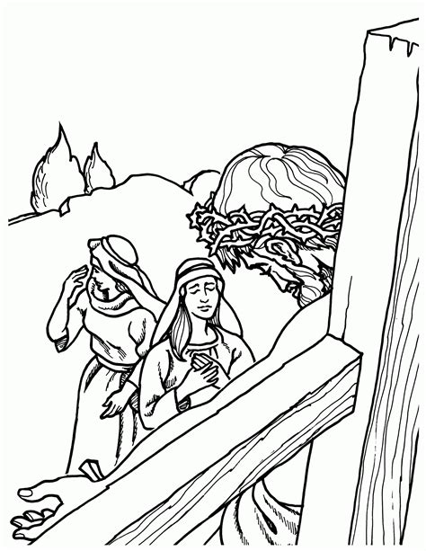 the coloring book for adults you ve probably never colored it jesus on cross coloring page coloring home