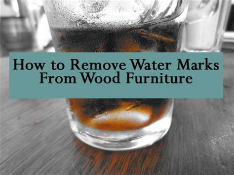 Removing Water Stains From Upholstery by How To Make A Topiary Water Rings Lost And