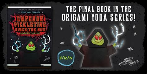 Tom Angleberger Origami Yoda Series - qwikpickpapers banner desktop