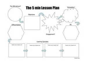 the 5 minute lesson plan by teachertoolkit by rmcgill