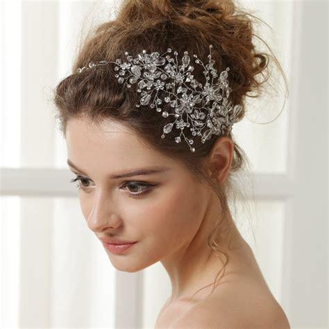 5 Bridal Hair Accessories To by New Wedding Headband Headbands Rhinestone Bridal