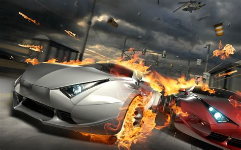 wallpaper game racing destructive car race wallpapers hd wallpapers id 8695