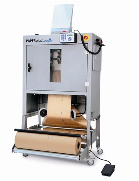 Paper Corrugated Box Machinery - storopack paper packaging machines produce high quality