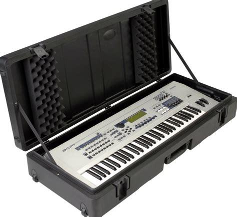 Hardcase Keyboard Yamaha 61 note keyboard wheels dj w flight yamaha key