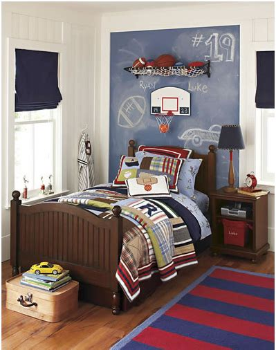 Boys Sports Bedroom by Key Interiors By Shinay Boys Sports Bedroom Themes