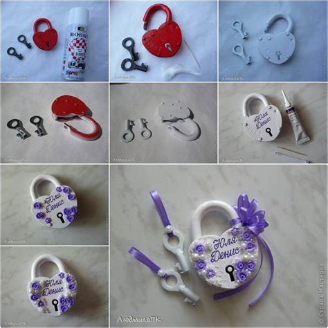 unique ideas creative ideas diy pretty wedding padlock