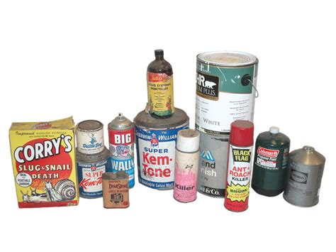 hazardous household products household hazardous waste