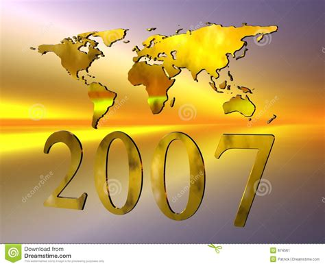 2007 Year Of The New by Happy New Year 2007 Stock Image Image 674561