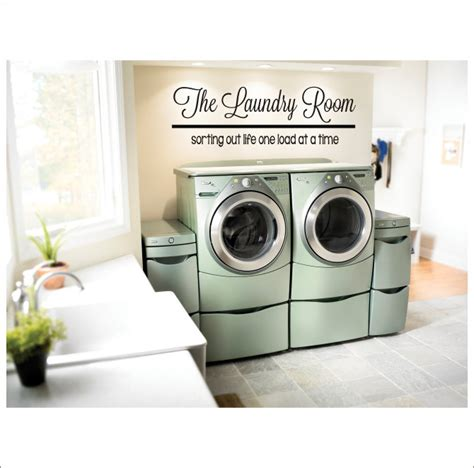 Laundry Room Decorations For The Wall The Laundry Room Vinyl Wall Decal Large Vinyl Decor Laundry