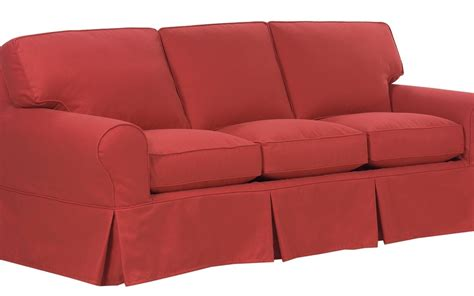 Slipcovers For Sleeper Sofas Sure Fit Stretch Piqu 233 3 Seat Slipcovered Sofa Sleeper
