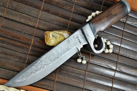 Handmade Or Made - custom made damascus knife survival knife