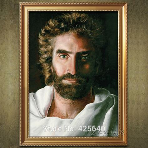 jesus home decor home decor jesus christ painting the portrait of jesus art