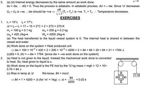 thermodynamics tutorial questions pdf ncert solutions for class 11 chemistry thermodynamics pdf