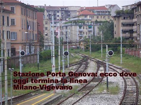 orari treni vigevano porta genova storia di alle origini della ferrovia
