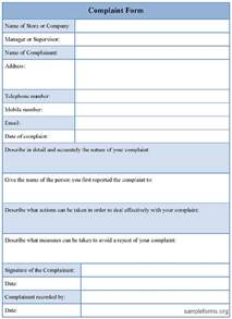 forms templates free customer complaint form excel template excel about