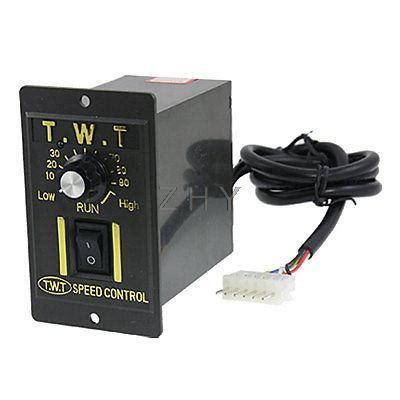 Split Pembayaran Tambahan Biaya Limited 25 w 6 pin steker listrik gigi ac bermotor pengendali