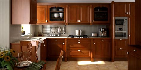 Model Kitchen Designs scene of kitchen fully furnished and decor 3d model