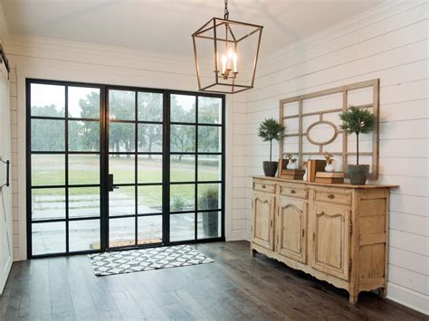 fixer foyer ideas chip and joanna gaines transform a barn into a rustic home