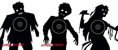 printable zombie targets pin free printable zombie targets new rem com pictures on