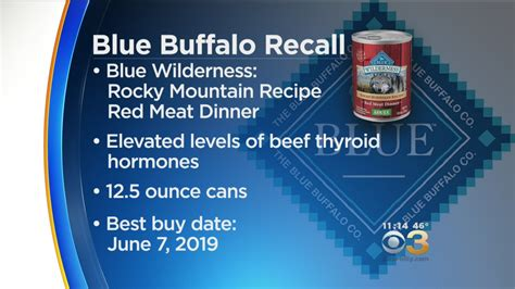 blue buffalo puppy food recall blue buffalo recalls food due to potential health risks 171 cbs philly